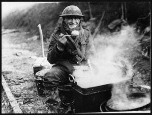 Army rations, Western Front, during World War I