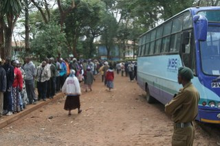 Kenya Bus Service (KBS) and Security at Polling Place