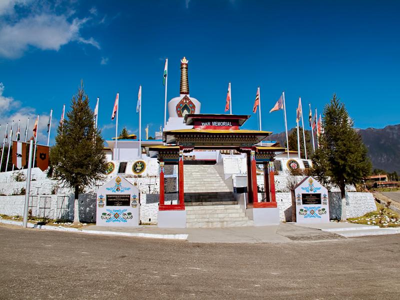Tawang War Memorial, Tawang,  Arunachal Pradesh