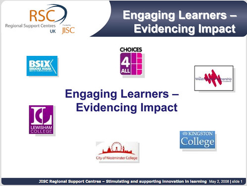 Evidencing Impact, RSC London
