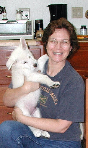Mom and baby Fritz