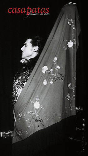 Amador Rojas bailando en Casa Patas. Foto: Martín Guerrero