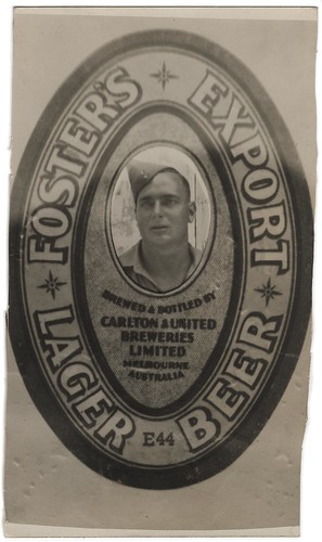 Fosters Export lager Post Card