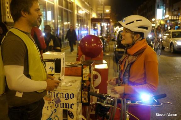 Bike lights distribution