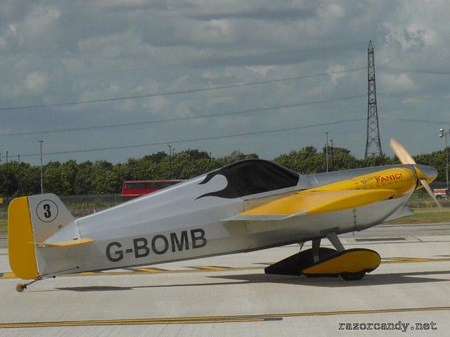 1 P1080428 Cassutt IIIM Racers {G-BOMB}  _ City Airport - 2008 (5th July)