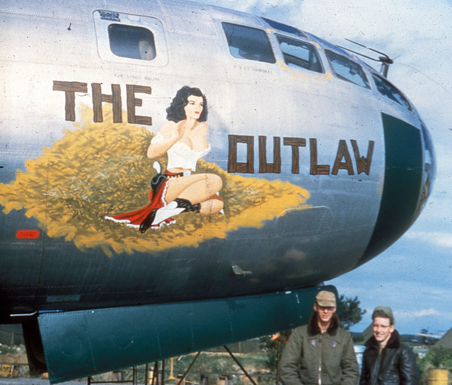 Ww2 Pin Up Girl Wallpaper Boeing B 29 Superfortress Flickr Photo Sharing