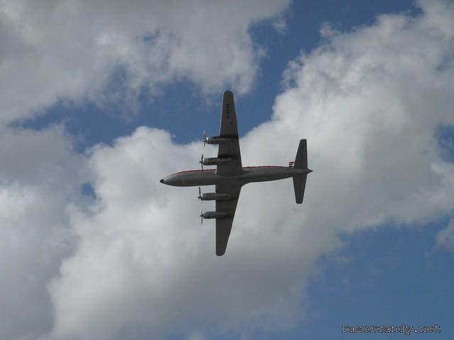 20 P1080615 British Eagle Douglas DC-6 {G-APSA} _ City Airport - 2008 (5th July)
