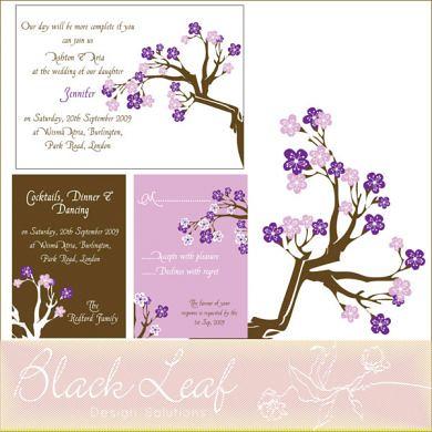 Plumbloom Purple Card Set
