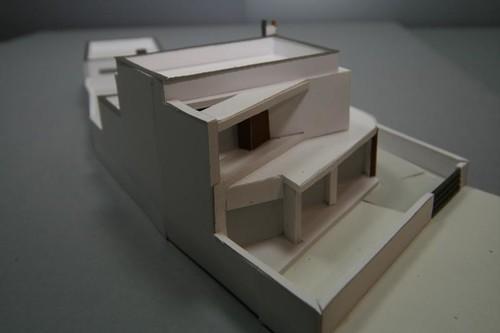 maqueta da casa em S. João Verdemilho