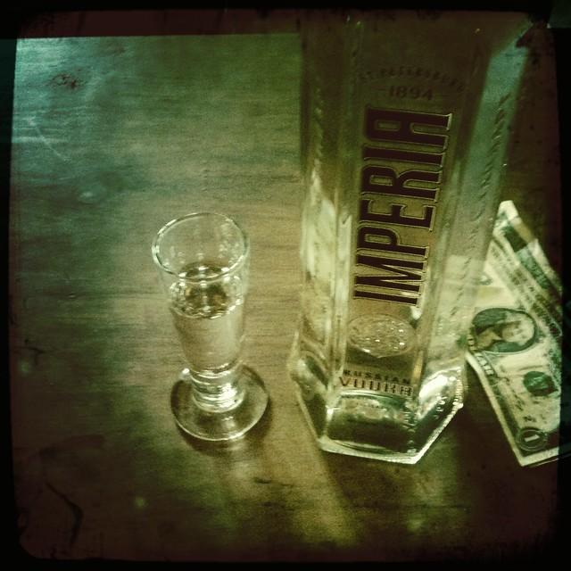 Imperia Russian vodka