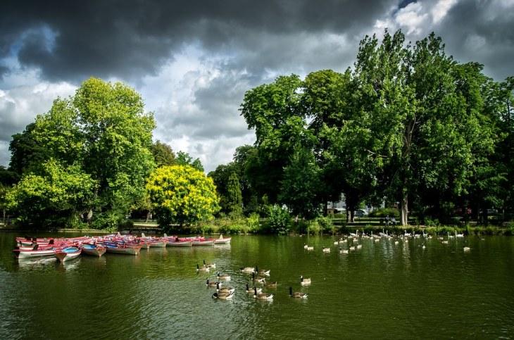 Lac du Bois de Vincennes...