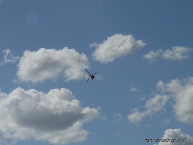 11 P1080649 Schweizer Helicopter {G-BWAV} _ City Airport - 2008 (5th July)