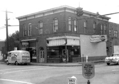 La Cantina Tavern and Sparks Grocery, 1956