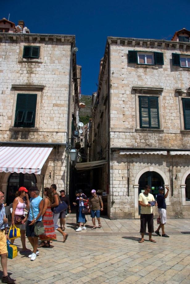 улица-площадь Страдун (Stradun), Хорватия, Дубровник