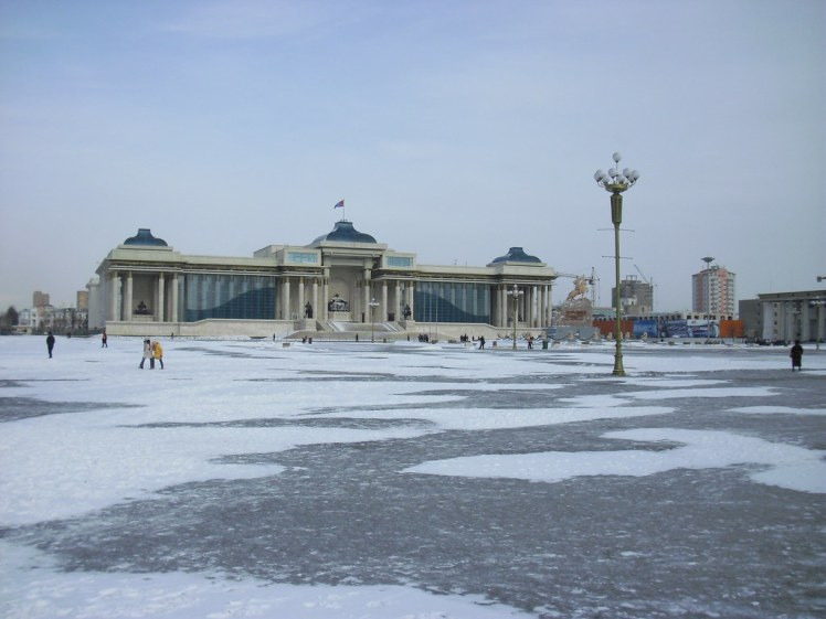 Sukhbaatar plein