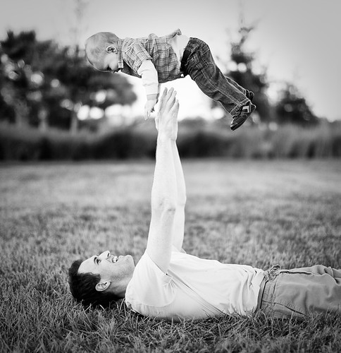 Father Throwing Baby-2