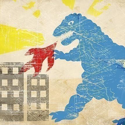 Blue Godzilla