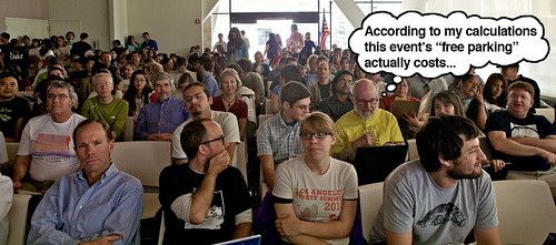 L.A. Street Summit Audience, What Donald Shoup Was Thinking Edition