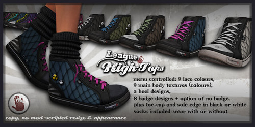 *League* High-Tops