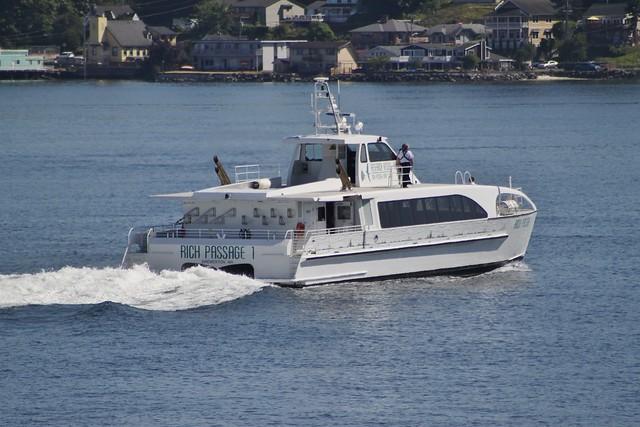 Rich Passage 1 leaving Bremerton
