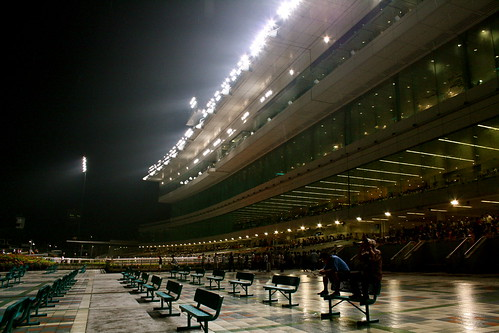 Singapore Turf Club on a Friday Night