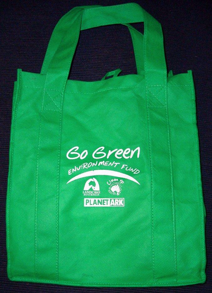 Go Green Bag Flickr Photo Sharing