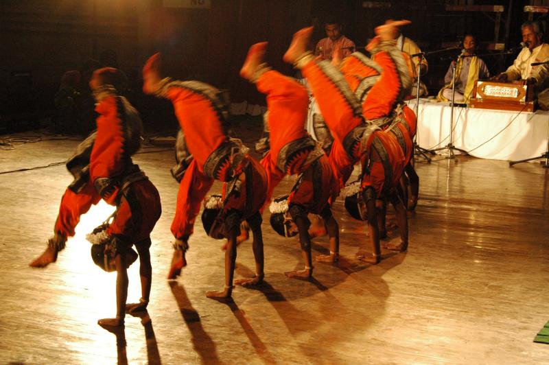 Gotipura, acrobatic dance from Odisha, India