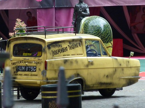 The Reliant Regal Supervan used by Delboy and Rodney Trotter