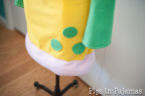 Weepinbell Costume skirt detail