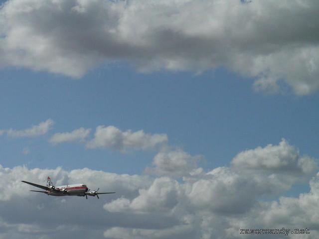 21 P1080619 British Eagle Douglas DC-6 {G-APSA} _ City Airport - 2008 (5th July)