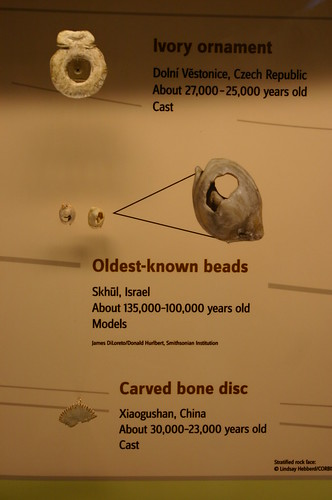 Oldest-known beads, 135,000 to 100,000 years old