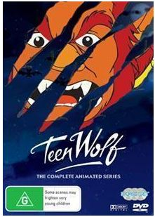 Teen Wolf Australian DVD set