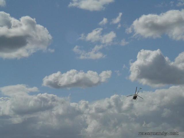 5 P1080633 Schweizer Helicopter {G-BWAV} _ City Airport - 2008 (5th July)