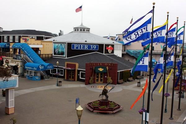 Pier 39 Fisherman' Wharf - Sharing