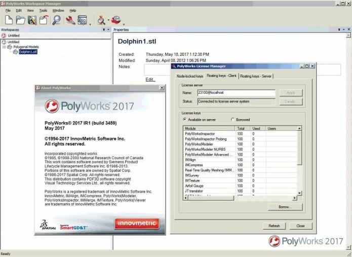 InnovMetric PolyWorks 2017 IR1 x86 x64 full