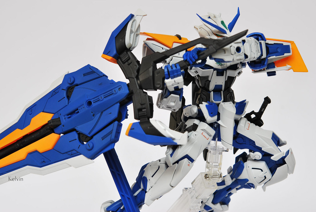 Gundam Astray Blue Frame Second Revise