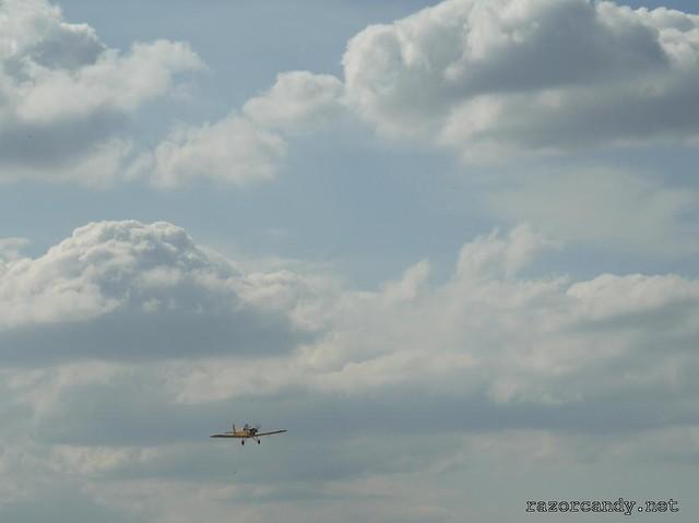 22 P1130861 Druine D.31 Turbulent {G-ARBZ} _ City Airport - 2009 (4th July)