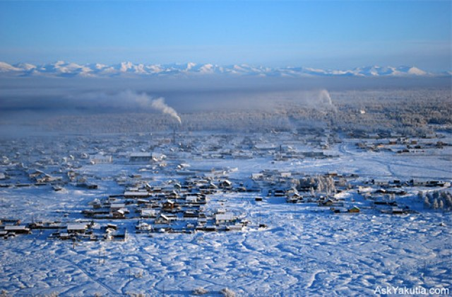 Tomtor, the valley of Oymyakon -