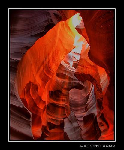 Antelope Slot Canyon - 2 by Somnath Mukherjee Photoghaphy