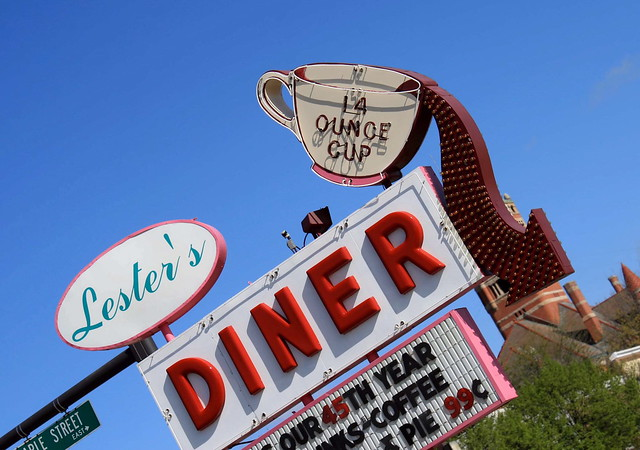 Lester's Diner, Bryan Ohio. Photo copyright Jen Baker/Liberty Images. All rights reserved. Pinning is fine, but please don't steal my work!