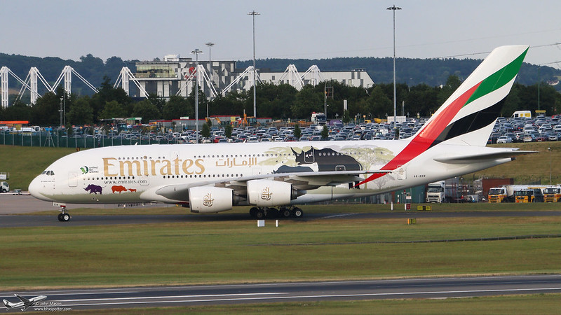 A6-EER A388 UAE
