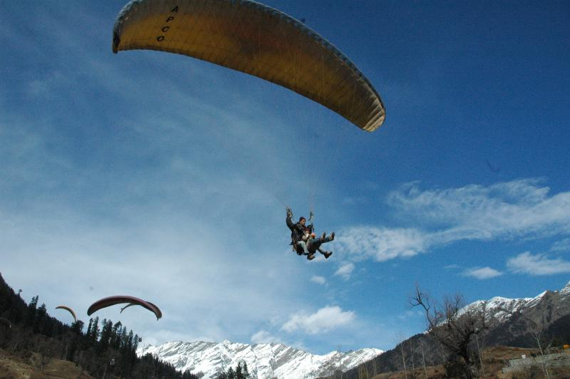 Soaring high in the sky - Manali, Himachal, India
