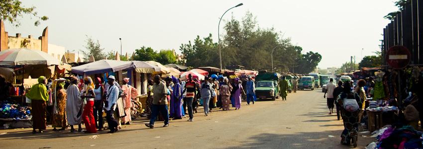 Bamako: Markt
