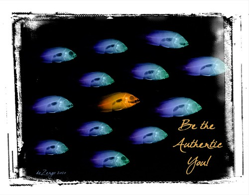 BE the Authentic YOU! by deZengo