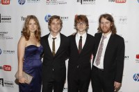 The Gregory Brothers at the 14th Annual Webby Awards Red ...