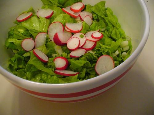 CSA Week 1: lots of lettuce!