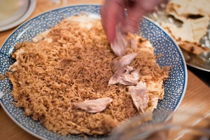 Libanese kip fattee: dan de pilav en de kip