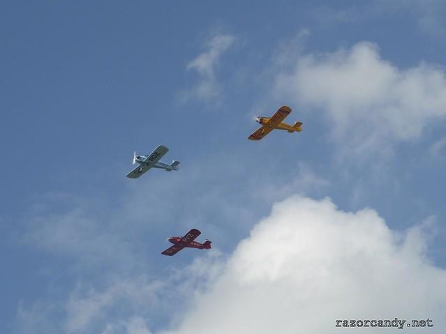 1 P1130826 Druine D.31 Turbulent {G-ARGZ} {G-APVZ} {G-ARBZ} _ City Airport - 2009 (4th July)