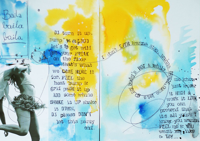 art-journal :: baila, baila