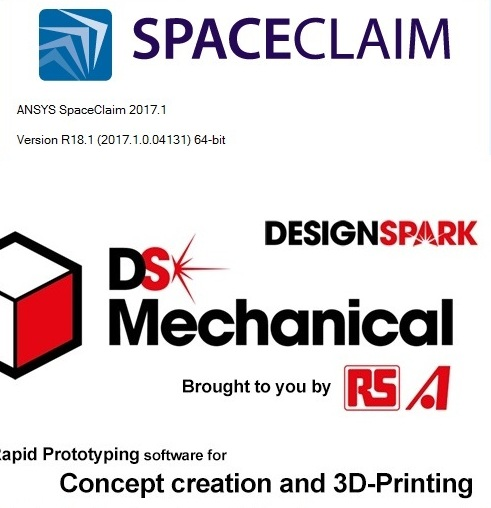 ANSYS SpaceClaim and DesignSpark Mechanical 2017.1 SP0 x64 full